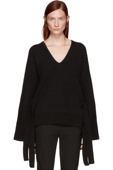 3.1 Phillip Lim - Black Wide Sleeve Sweater