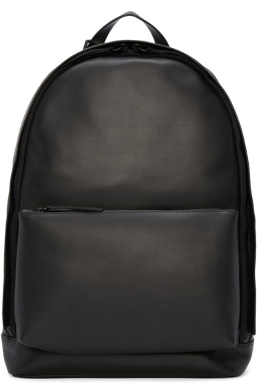 3.1 Phillip Lim - Black Leather 31 Hour Backpack
