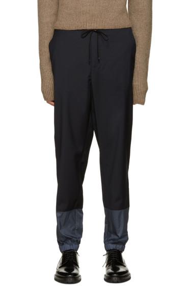 3.1 Phillip Lim - Navy Wool Lounge Pants