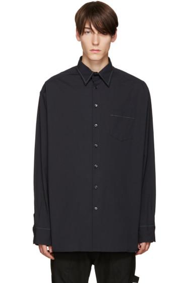Raf Simons - Navy Oversized Shirt