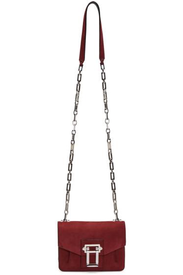 Proenza Schouler - Burgundy Nubuck Hava Shoulder Bag