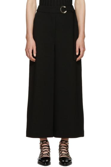 Proenza Schouler - Black Belted Trousers