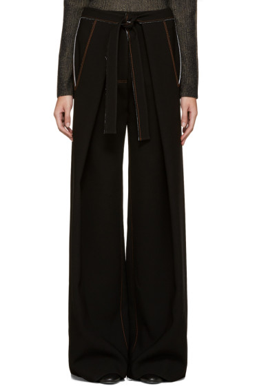 Proenza Schouler - Black Baggy Trousers