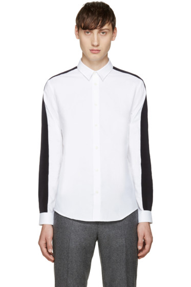 Carven - White Grosgrain Shirt