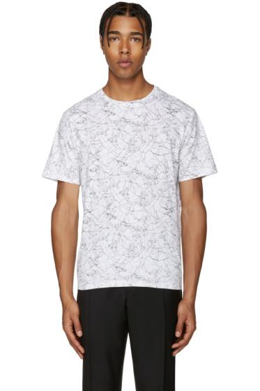 Carven - White Skateboard T-Shirt