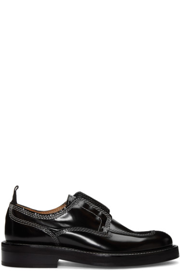 Carven - Black Contrast Stitch Derbys