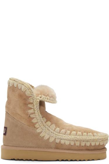 Mou - Tan Eskimo 18 Boots