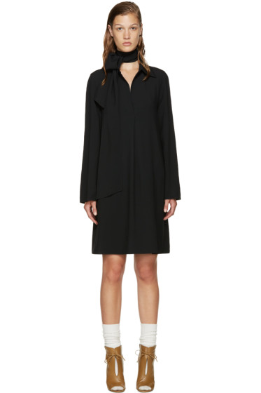 Chloé - Black V-Neck Dress
