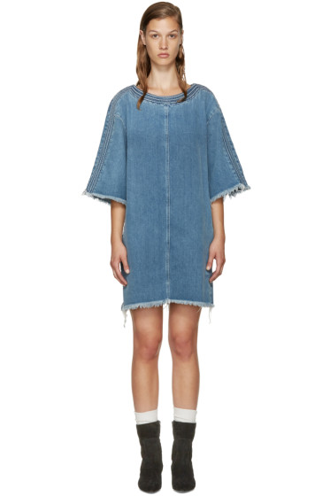 Chloé - Blue Denim Dress