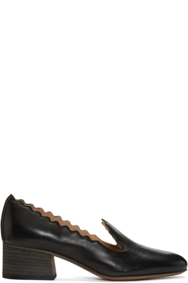 Chloé - Black Lauren Loafers