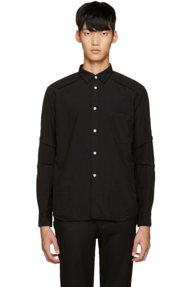 Comme des Garçons Homme Plus - Black Treated Shirt