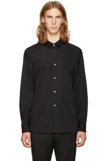 Comme des Garçons Homme Plus - Black Panel Shirt