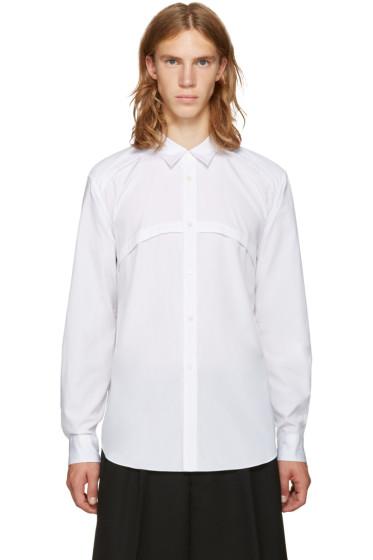 Comme des Garçons Homme Plus - White Panel Shirt