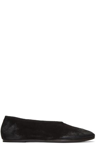 Marsèll - Black Suede Coltellaccio Flats