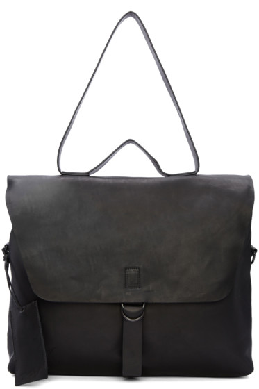 Marsèll - Black Leather Messenger Bag
