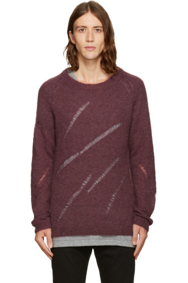 BLK DNM - Burgundy 34 Sweater
