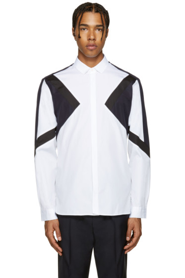 Neil Barrett - Tricolor Modernist Shirt
