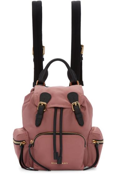 Burberry - Pink Small Rucksack