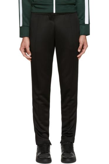 Burberry - Black Slim Track Pants
