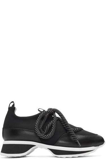 Pierre Hardy - Black Urban Track Sneakers