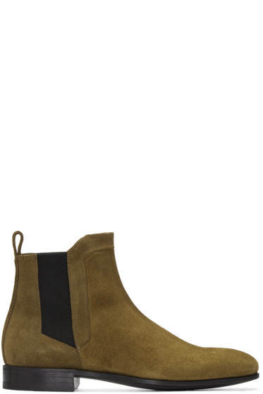Pierre Hardy - Tan Drugstore Chelsea Boots