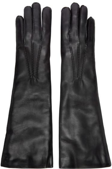 Ann Demeulemeester - Black Short Joris Gloves