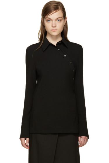 Ann Demeulemeester - Black Asymmetric Shirt
