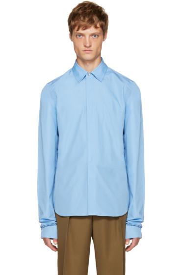 Marni - Blue Overlong Sleeve Shirt