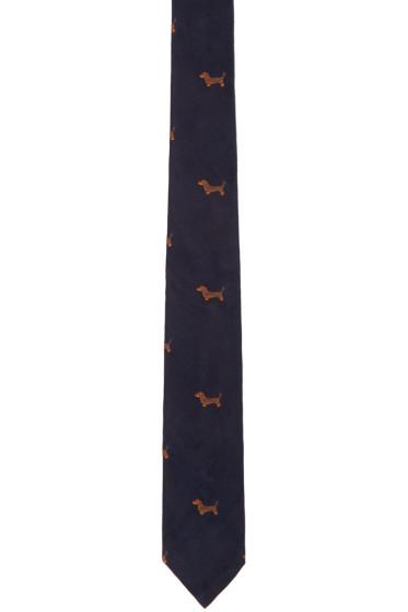 Thom Browne - Navy Hector Tie