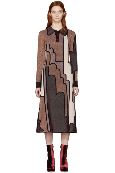 Roksanda - Burgundy Allington Dress