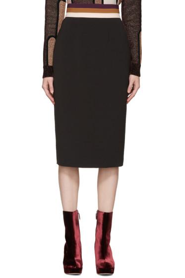 Roksanda - Black Congleton Skirt