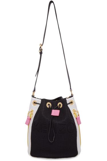 Kenzo - Black & White Kombo Bucket Bag