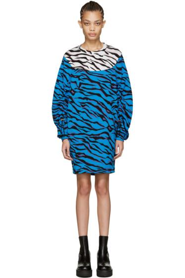 Kenzo - Blue Tiger Stripes Dress