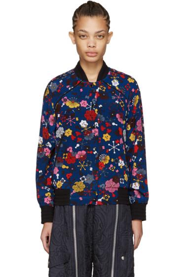 Kenzo - Multicolor Silk Bomber Jacket