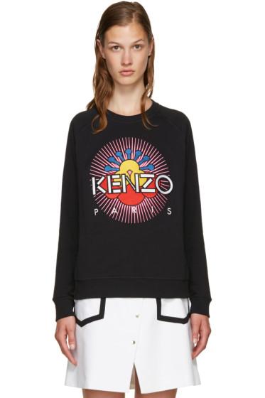 Kenzo - Black Tanami Flower Pullover