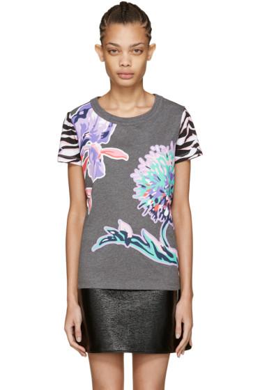 Kenzo - Grey Dandelion T-Shirt