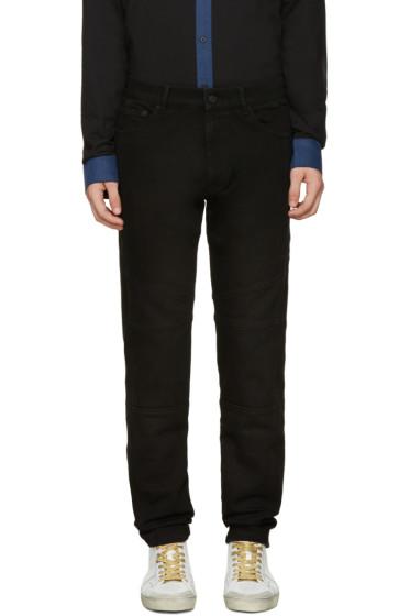 Kenzo - Black Paneled Jeans