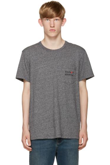 Maison Kitsuné - Grey Army T-Shirt