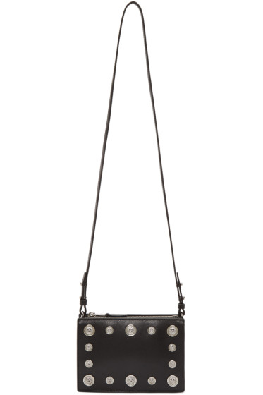 Versus - Black Studded Medallion Bag