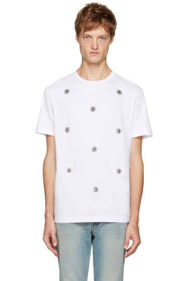 Versus - White Lion Medallion T-Shirt