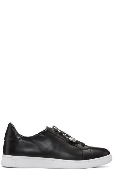 Versus - Black Safety Pin Sneakers