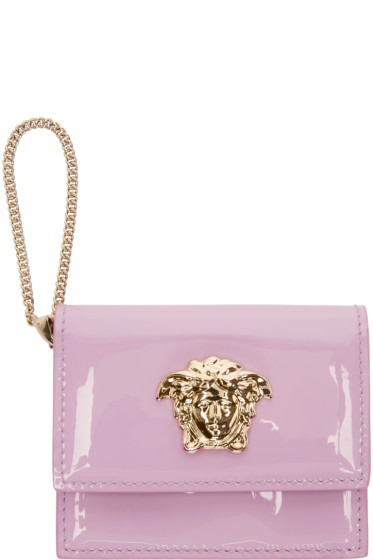 Versace - Pink Medusa Wallet