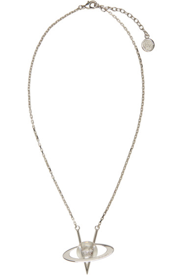 Versace - Silver Pendant Necklace
