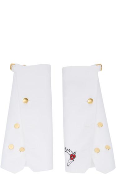 Undercover - White Oversized Shirt Cuffs