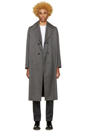 Undercover - Grey Double-Breasted Coat
