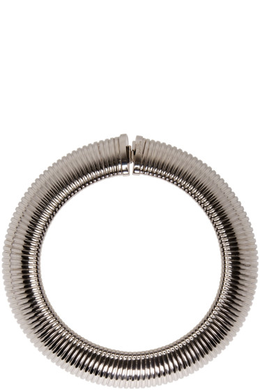 Saint Laurent - Silver Serpent 4 Choker