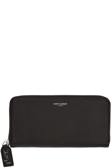 Saint Laurent - Black Rive Gauche Wallet