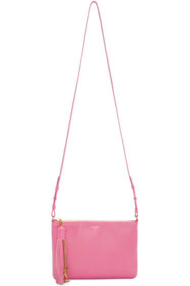 Saint Laurent - Pink Teen Monogram Bag