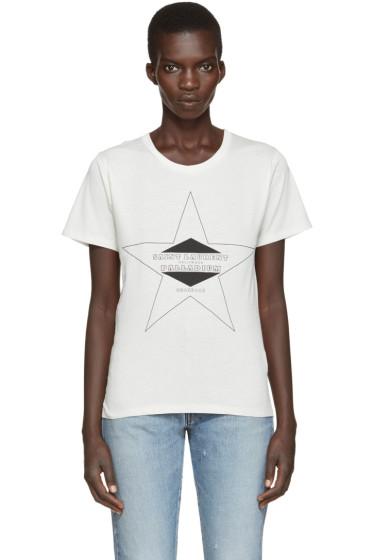 Saint Laurent - Off-White Palladium T-Shirt