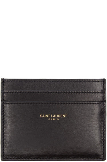 Saint Laurent - Black Classic Card Holder